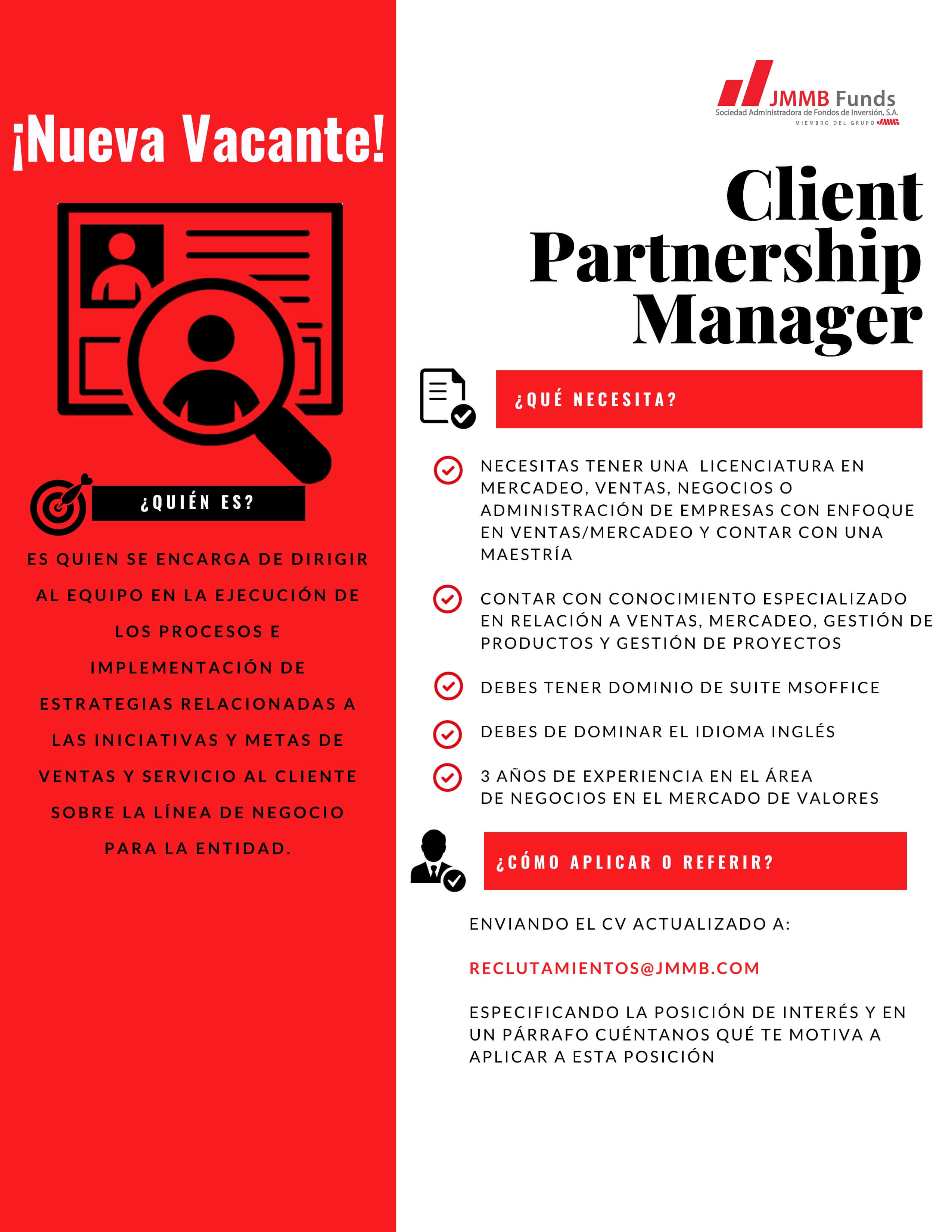 Client Partnership Manager