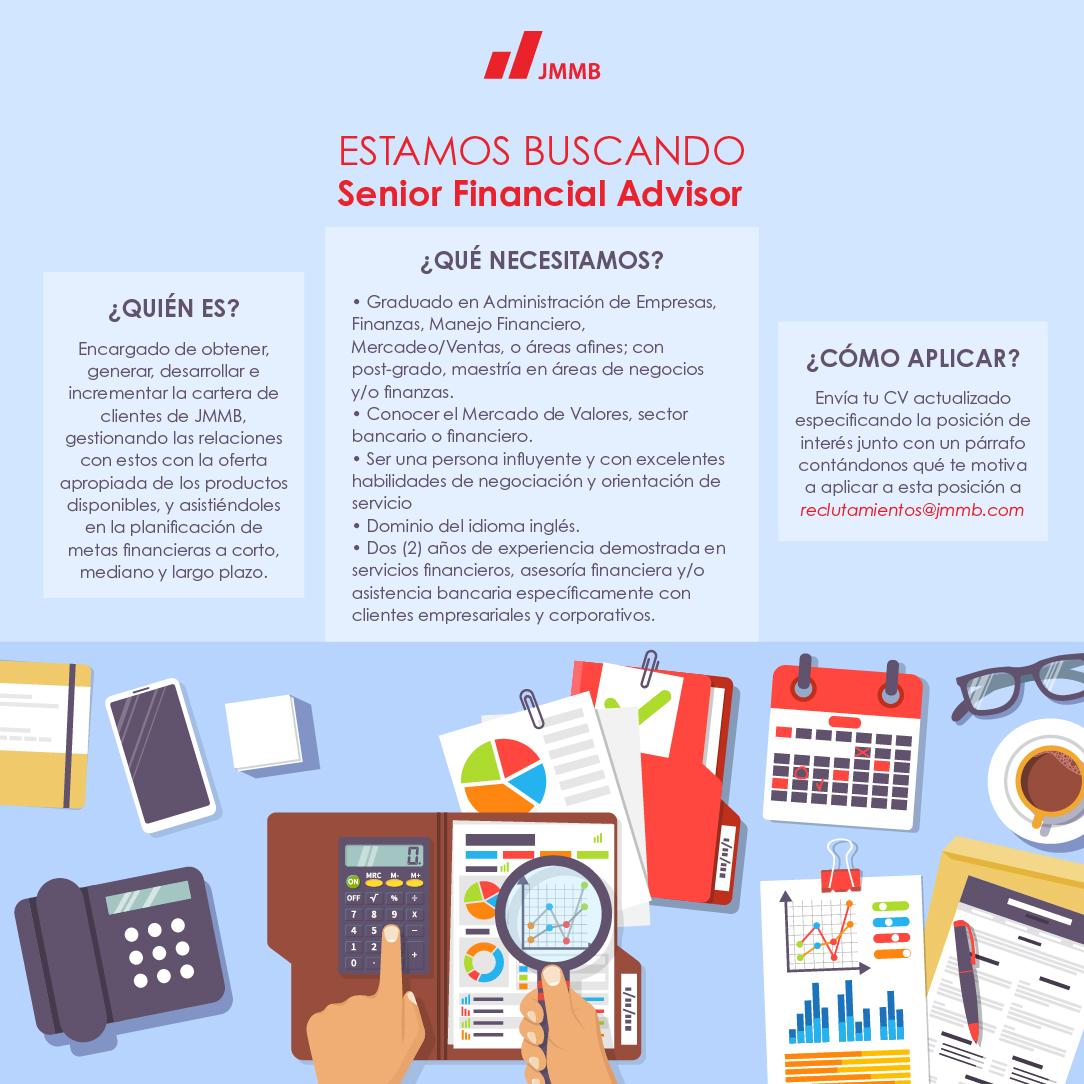 Senior financial advisor