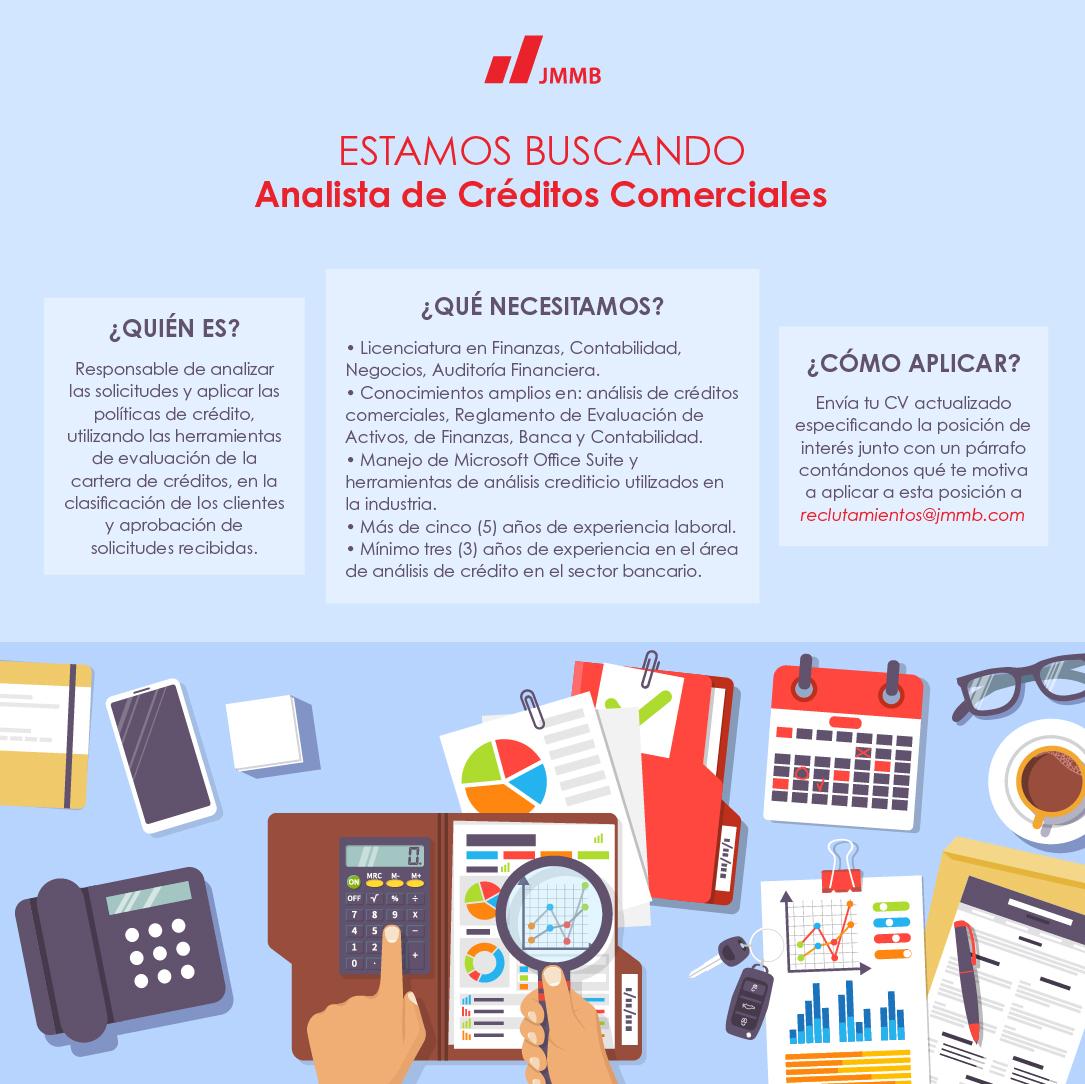Analista de créditos comerciales