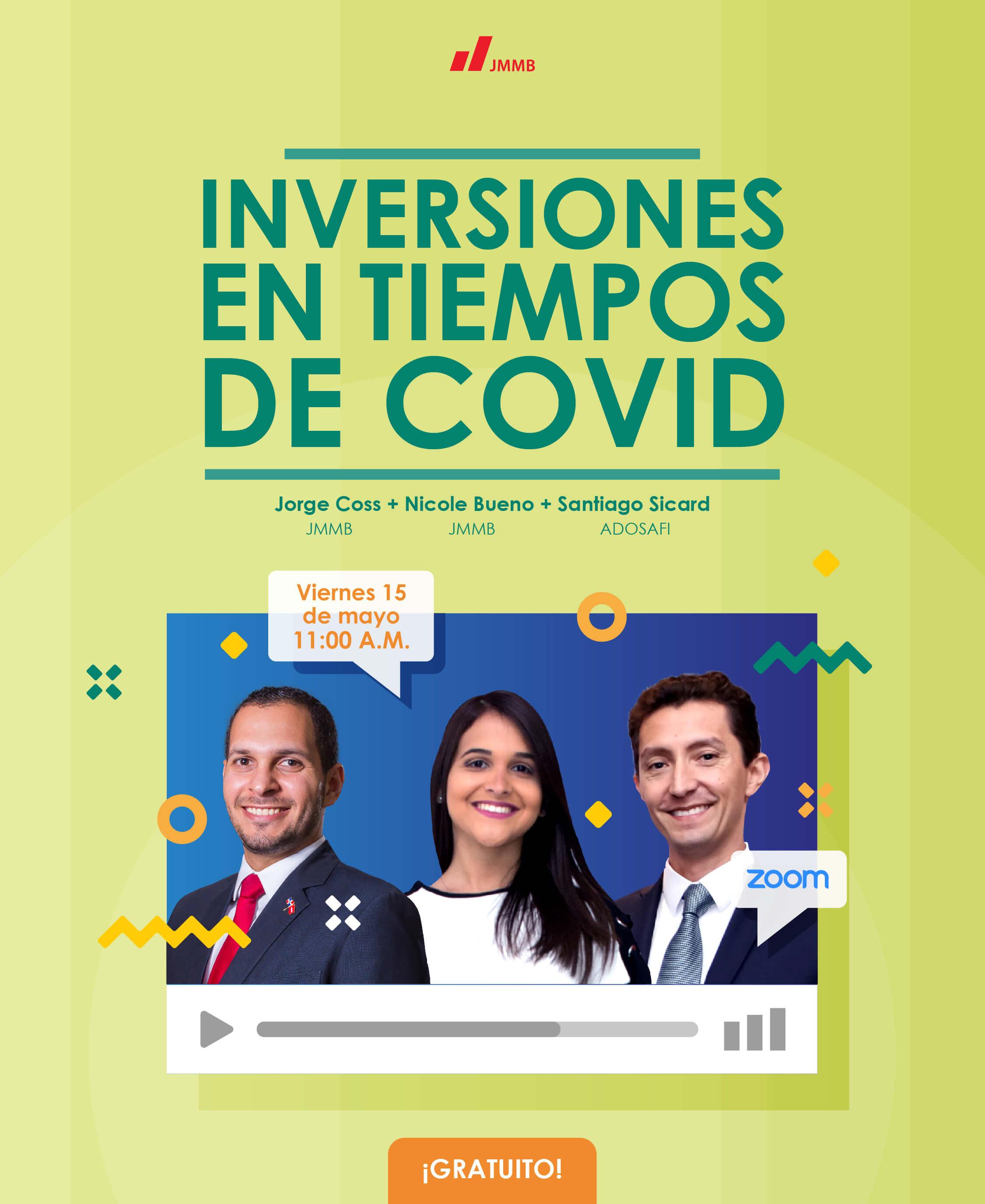 webinar Inversiones en tiempos de Covid