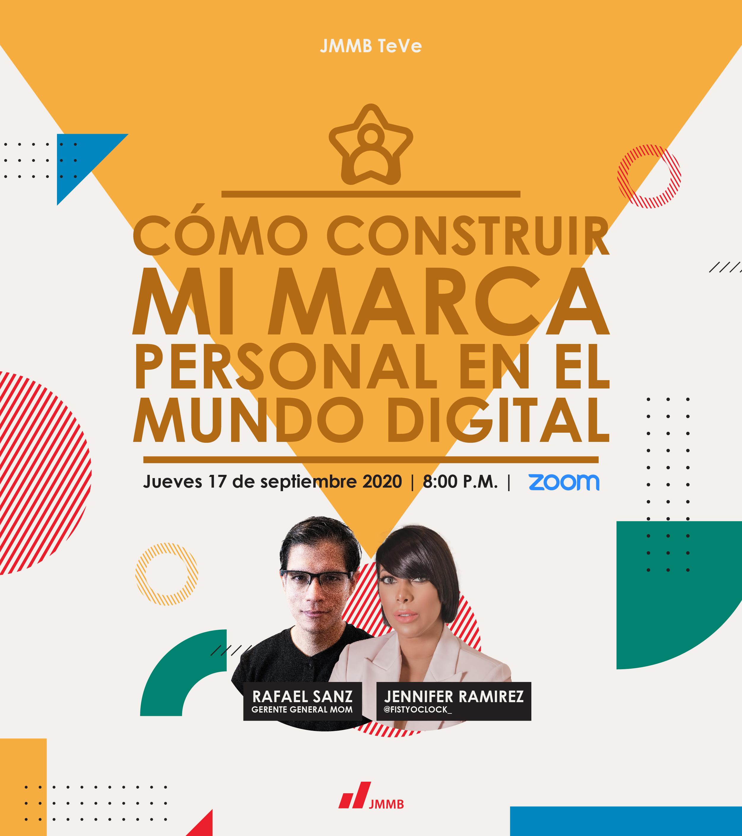 webinar Mi marca personal en el mundo digital